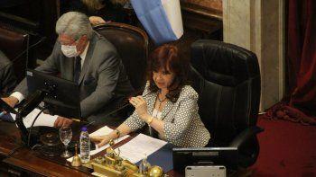 Cristina de Kirchner.