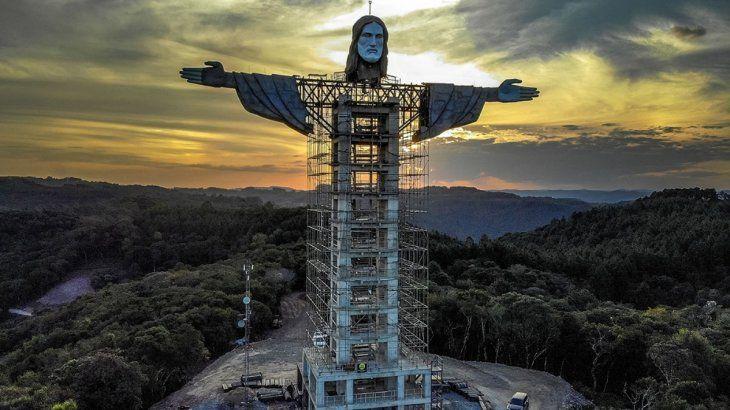 Brasil tendrá un nuevo Cristo gigante, más alto que el de Rio de Janeiro