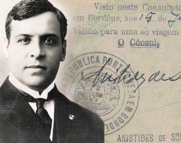 Arístides de Sousa Mendes fue un cónsul portugués entre el 16 y el 23 de junio de 1940, expidió visados portugueses de forma frenética e indiscriminada, durante los primeros días de la invasión de Francia por parte de la Alemania Nazi.
