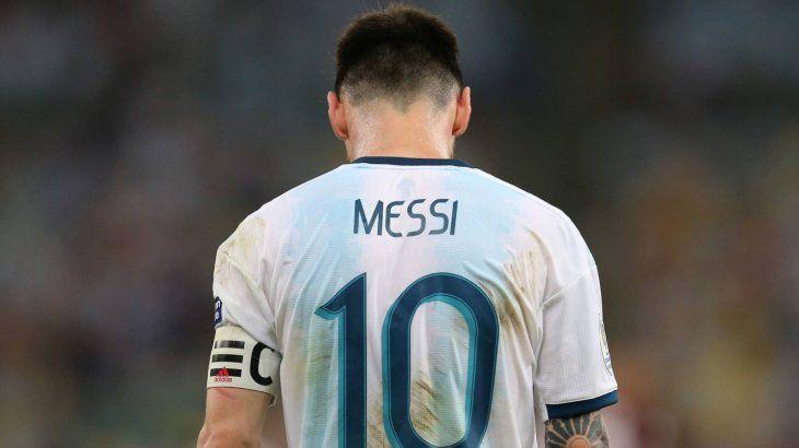 Por la Superliga, Messi podría perder su último Mundial con Argentina