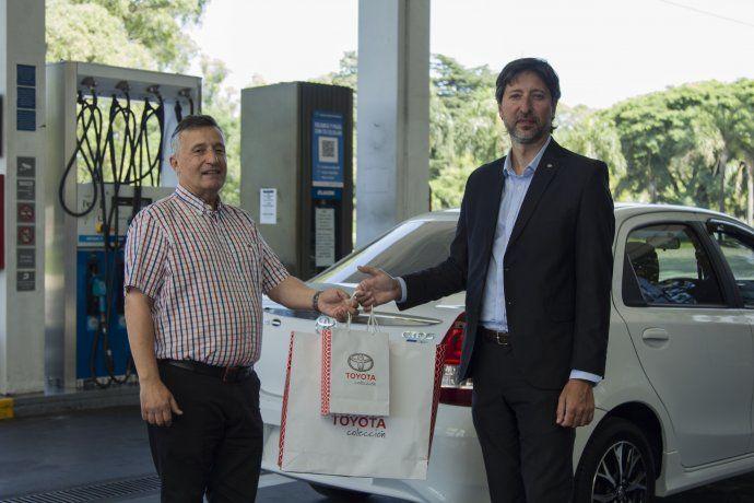YPF y Toyota presentaron plan de beneficios para propietarios de Etios con sistema de GNC