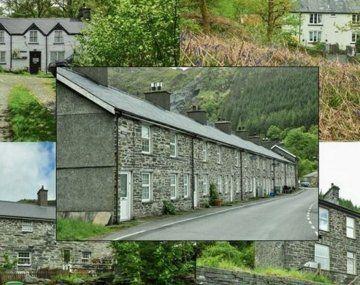 El pueblo entero con sus 16 casas está a la venta.
