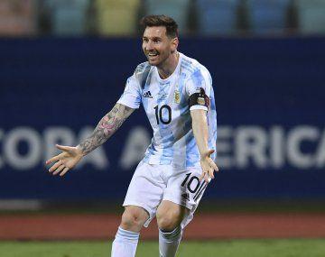 Lionel Messi fue la figura rutilante de la Copa América 2021 que ganaron los argentinos.