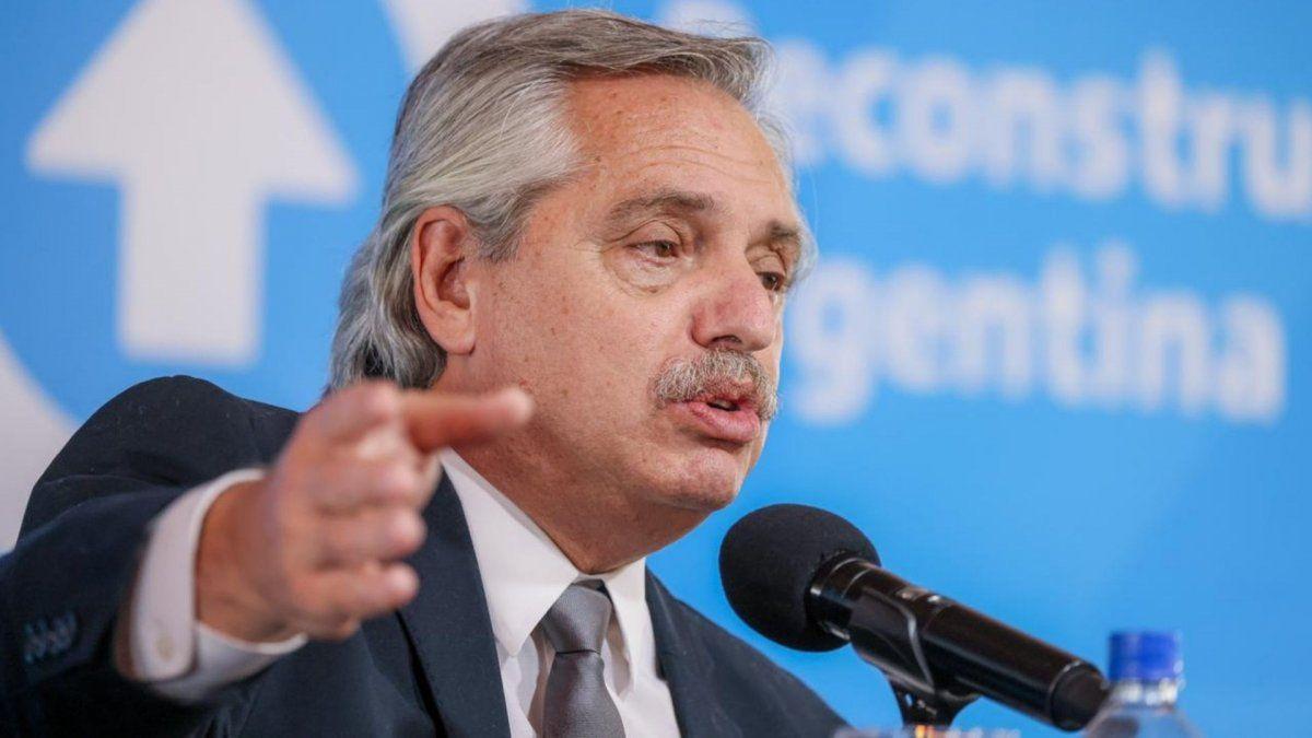 Alberto Fernández agradeció la convocatoria del lunes, pero pidió seguir su discurso en forma remota