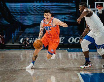 Deck anotó dos puntos y bajó dos rebotes y dio dos asistencias en su debut en Oklahoma.