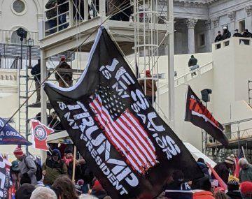 Envían tropas a Washington para contener las protestas proTrump
