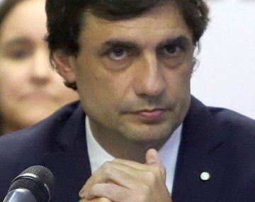 Hernán Lacunza, ministro de Hacienda de la Nación.