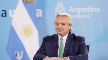 El presidente Alberto Fernández cumple su séptimo día de aislamiento.