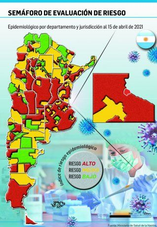 Alto riesgo en más distritos fuerza a provincias a sumar restricciones