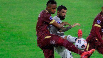 Talleres empató de visitante con Deportes Tolima por la Copa Sudamericana.