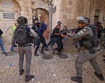 La del lunes fue la jornada más violenta con casi 300 palestinos heridos.