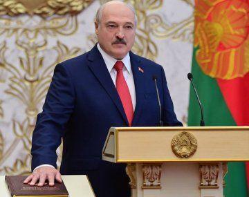 Alexander Lukashenko juró este miércoles su sexto mandato en Bielorrusia.