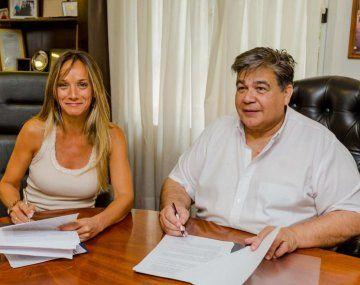 Malena Galmarini y Mario Ishii.