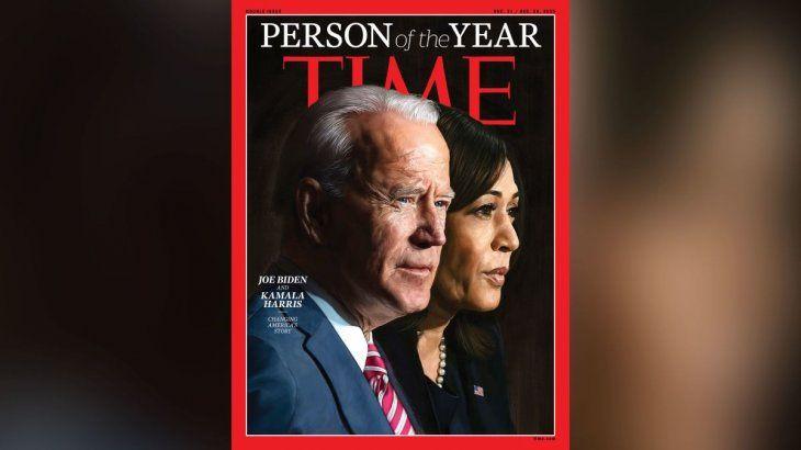 La revista Time eligió a Joe Biden y Kamala Harris como Personalidades del Año