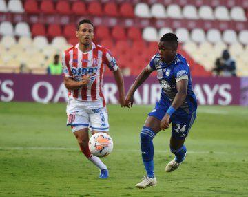 Unión perdió con Emelec por la Copa Sudamericana.