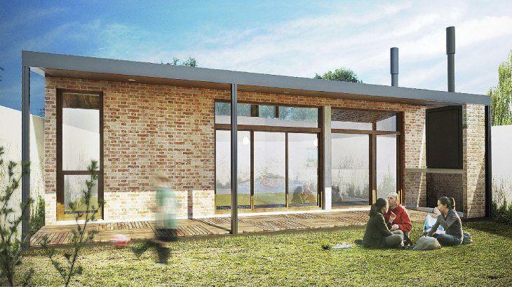 Casa Propia pone a disposición distintos modelos de vivienda. En todos los casos, se deberá optar por una de las tipologías propuestas, a excepción de quienes construyan en terrenos que sean de titularidad dominial de familiares directos. Este modelo se llama Bicentenaria.
