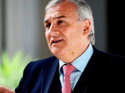"""Morales dijo que """"en Jujuy estamos manteniendo la actividad económica a full."""