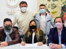 Merlo: Menéndez  cerró campaña
