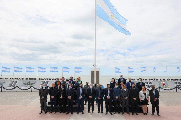 La primera reunión de gabinete federal se llevó a cabo en Río Grande, el pasado 21 de diciembre.