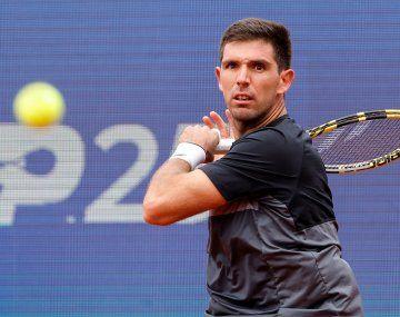 Delbonis está en semis de Belgrado, donde Djokovic aplastó a Coria.