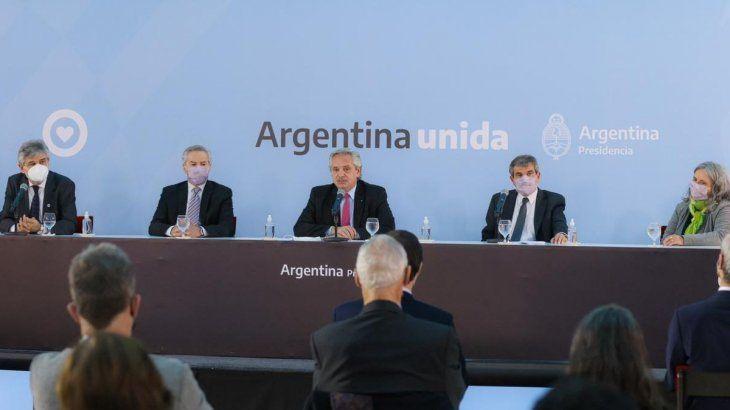 El presidente Alberto Fernández en el Día de la Afirmación de los Derechos Argentinos sobre las Malvinas