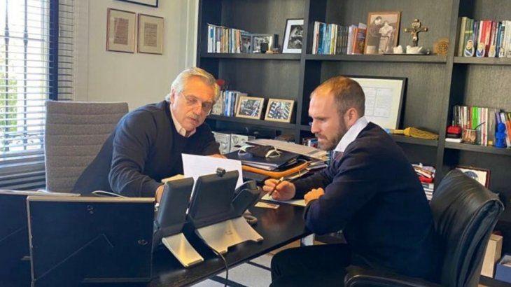 El presidente Alberto Fernández viajará a Europa junto a Martín Guzmán.