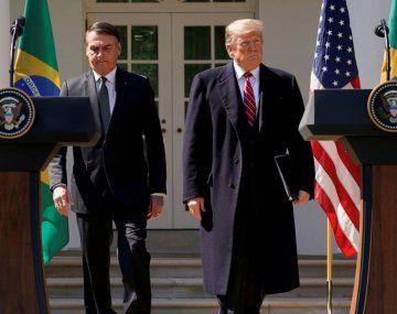 Jair Bolsonaro ha manifestado su apoyo a la reelección de Donald Trump.