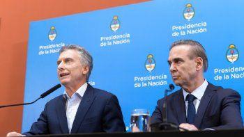 Mauricio Macri y Miguel Pichetto compartieron la fórmula presidencial de Juntos por el Cambio en 2019.