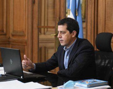 El ministro de Interior, Eduardo Wado De Pedro.