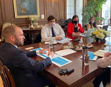 Guzmán se reunió con el FMI durante su viaje a EE.UU. (Foto de archivo).