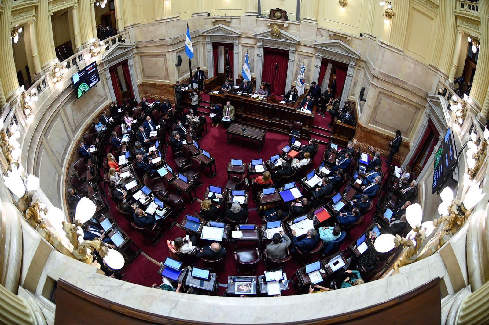 el senado sesiona manana con bienes personales y prorroga de la emergencia territorial indigena en agenda