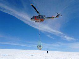 Despliegan misión de la Fuerza Aérea a Antártida por siniestro de Twin Otter