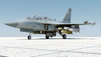 Ataque. El FA-50 coreano que argentina negoció comprar. Una historia de acuerdos y vetos que terminó en el bloqueo de la operación.