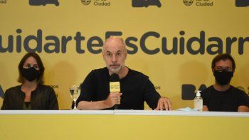 Horacio Rodríguez Larreta realizará una conferencia de prensa para anunciar las nuevas medidas de DISPO en la ciudad de Buenos Aires.