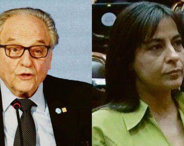 Carlos Heller y Carolina Moisés