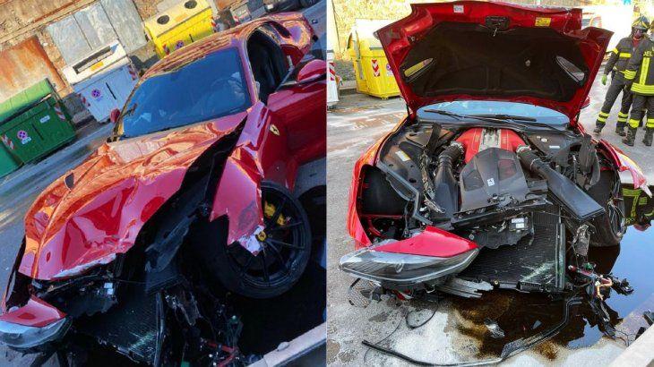 Futbolista dejó su carro en un lavadero y lo recibió destrozado