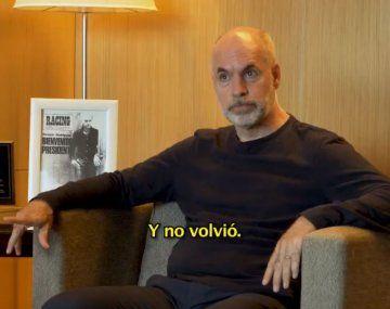 Larreta reveló cómo fue el secuestro de su padre en la dictadura: Se lo llevaron en un Falcon verde