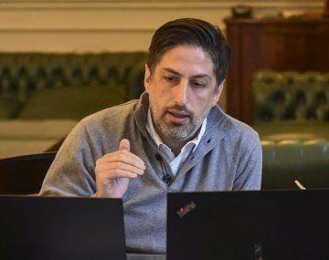 El ministro de Educación, Nicolás Trotta, encabezó una reunión del Observatorio Federal del Regreso Presencial a las Aulas.