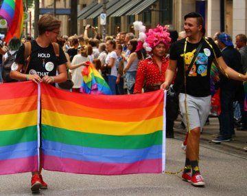 Marcha del orgullo LGBT.