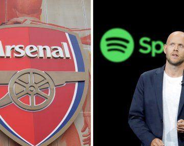 Henry reveló que el CEO de Spotify negocia la compra del Arsenal inglés con los dueños del equipo