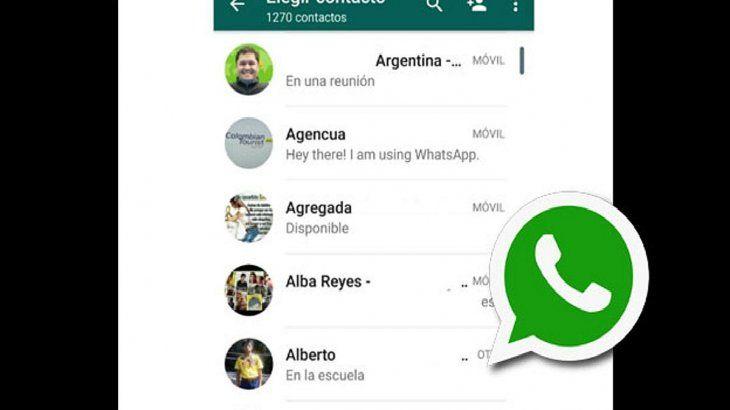 Ahora te podes enterar con qué nombre guardaron tu contacto en otros celulares.