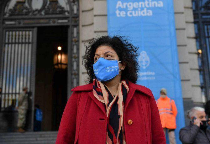 Operan de urgencia a la ministra Carla Vizzotti por apendicitis