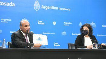 El jefe de Gabinete Juan Manzur anunció la flexibilización de actividades a raíz del descenso de casos de coronavirus.