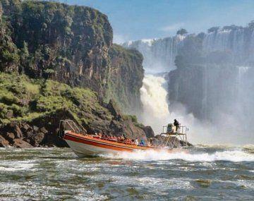 Visitantes. En las Cataratas del Iguazú, el principal destino turístico de la provincia de Misiones, hubo una ocupación del 91%.