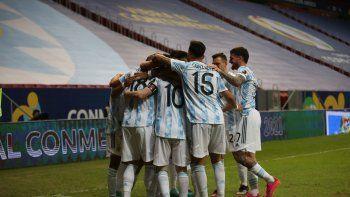 argentina busca ante paraguay asegurar su clasificacion a los cuartos de final