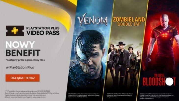 Sony lanzó PlayStation Plus Video Pass en Polonia.