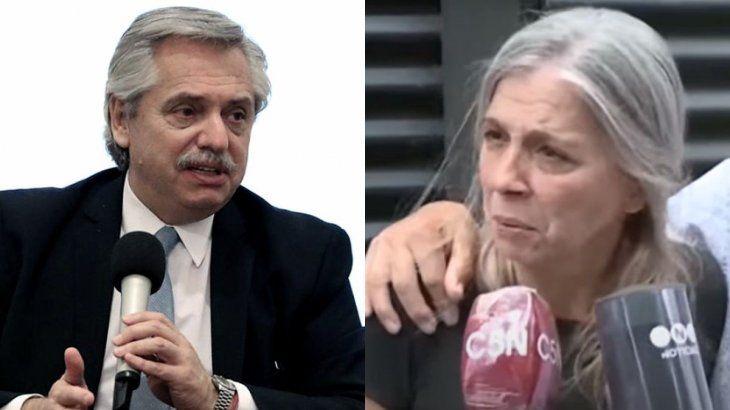 Alberto Fernández recibió a Patricia Nasutti