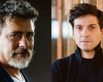 """Javier Daulte (izquierda). Estrena dos obras en Barcelona. Matías Umpierrez (derecha). Hará """"Macbeth"""" con Ángela Molina."""