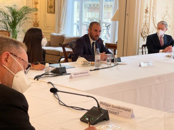 Guzmán se reunió con empresarios franceses con inversiones en Argentina