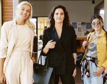 Pequeñas victorias. Mariana Genesio, Julieta Díaz y Natalie Pérez en la serie de Amazon Prime y Telefé.